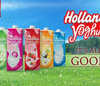 Hollandia Yoghurt Introduces its new colourful packs